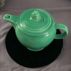 Vintage fiesta teapot turquoise